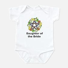 Pagan Pentagram Daughter of the Bride Infant Bodys