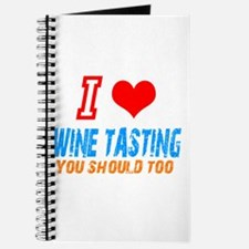 I love wine tasting Journal
