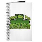 Kiss Me I'm Italian Shamrock Journal