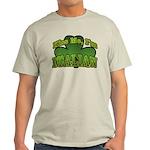 Kiss Me I'm Italian Shamrock Light T-Shirt