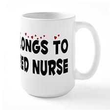 Belongs To A Registered Nurse Mug