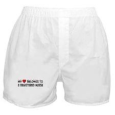 Belongs To A Registered Nurse Boxer Shorts