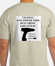 POWER TOOL DRILL T-Shirt