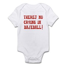No Crying in Baseball Infant Bodysuit
