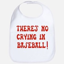 No Crying in Baseball Bib