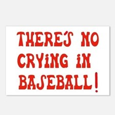 No Crying in Baseball Postcards (Package of 8)
