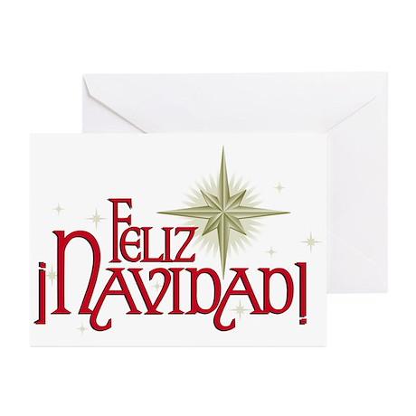 Feliz Navidad! Christmas Greeting Cards (Package o