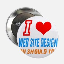 "Unique Website design 2.25"" Button"