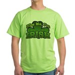 Kiss Me I'm Irish Shamrock Green T-Shirt