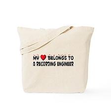 Belongs To A Recording Engineer Tote Bag