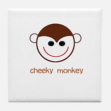 Cheeky Monkey Tile Coaster