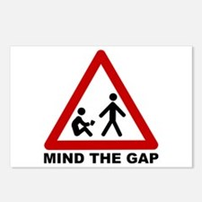 Mind the Gap (Class) Postcards (Package of 8)