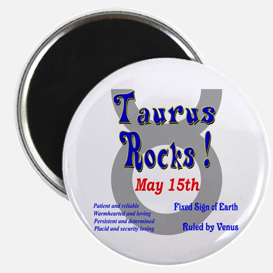 Taurus May 15th Magnet