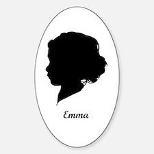 Emma 2008-Feb Name Oval Decal