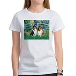 Bridge / Two Collies Women's T-Shirt