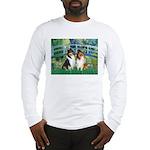 Bridge / Two Collies Long Sleeve T-Shirt
