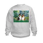 Bridge / Two Collies Kids Sweatshirt