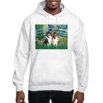 Bridge / Two Collies Hooded Sweatshirt