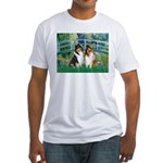 Bridge / Two Collies Fitted T-Shirt