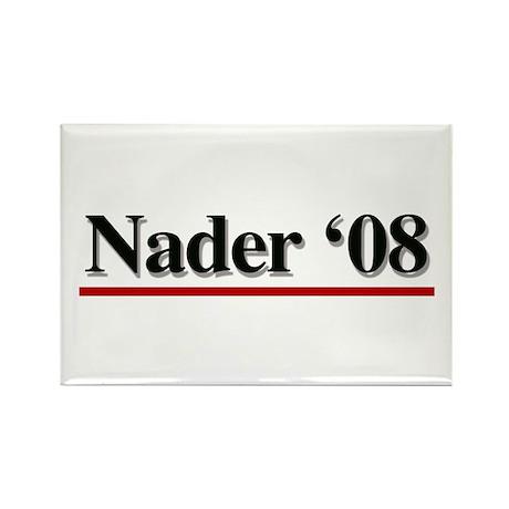 Nader 08 Rectangle Magnet