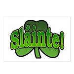 Slainte Shamrock Postcards (Package of 8)