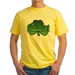 Slainte Shamrock Yellow T-Shirt