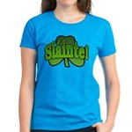 Slainte Shamrock Women's Dark T-Shirt