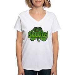Slainte Shamrock Shirt