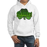 Slainte Shamrock Hooded Sweatshirt