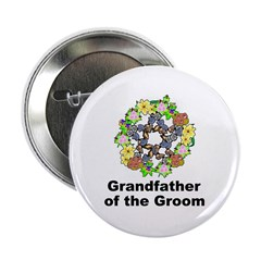 Pagan Pentagram Grandfather of the Groom 2.25