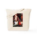 Accolade / Collie pair Tote Bag