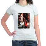 Accolade / Collie pair Jr. Ringer T-Shirt