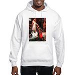 Accolade / Collie pair Hooded Sweatshirt