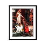 Accolade / Collie pair Framed Panel Print