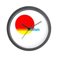 Moriah Wall Clock