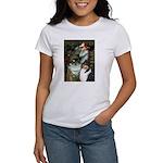 Ophelia / Collie (tri) Women's T-Shirt