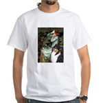 Ophelia / Collie (tri) White T-Shirt