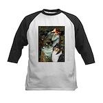 Ophelia / Collie (tri) Kids Baseball Jersey