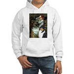 Ophelia / Collie (tri) Hooded Sweatshirt