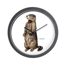 Woodchuck Animal Wall Clock