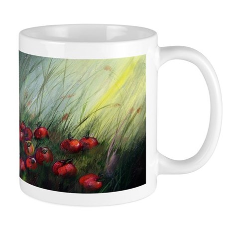 """""""Apples in the Grass"""" Mug"""