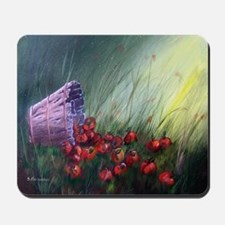 """""""Apples in the Grass"""" Mousepad"""