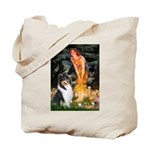 Midsummer's Eve / Collie (tri) Tote Bag