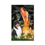 Midsummer's Eve / Collie (tri) Sticker (Rectangle)