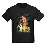 Midsummer's Eve / Collie (tri) Kids Dark T-Shirt