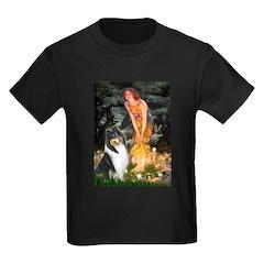 Midsummer's Eve / Collie (tri) Kids Dark T-Shirt