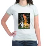 Midsummer's Eve / Collie (tri) Jr. Ringer T-Shirt