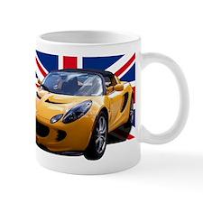 Yellow Elise UK Mug