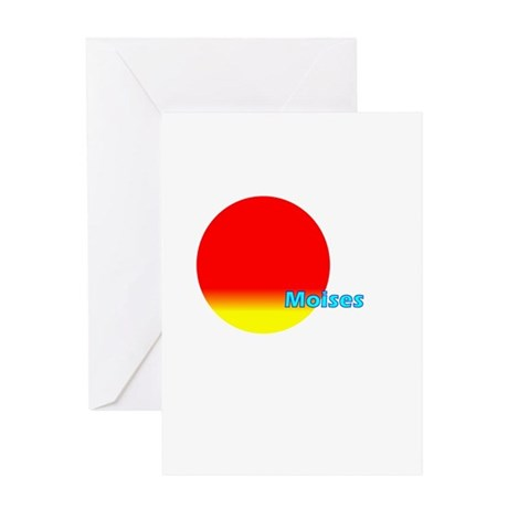 Moises Greeting Card