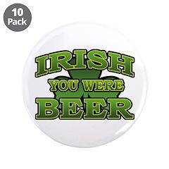 Irish You Were Beer Shamrock 3.5